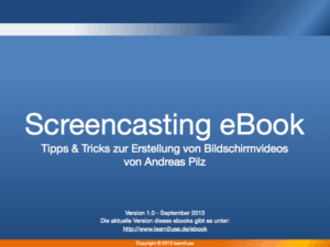 Screencasting ebook