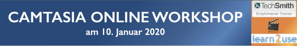 Online Workshop Januar 2020